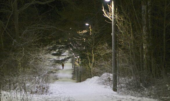 Elljusspåret på Eriksö, Vaxholm