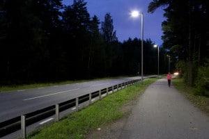 Bättre belysning och energisnålare på väg 226