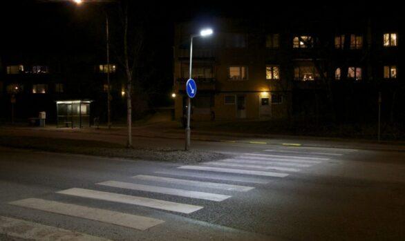 Övergångsställen, Riksby, Bromma
