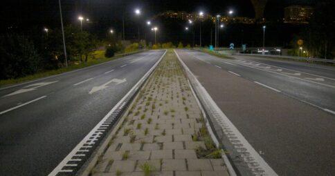 Väg 260 Sickla, Trafikverket
