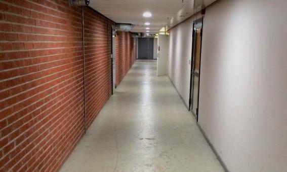 Energisnål LED-belysning i korridor