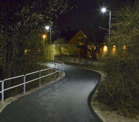Gång- & cykelväg, Länsmansvägen Upplands-Väsby
