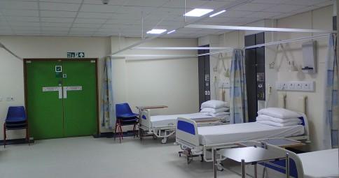 Royal Bournemouth sjukhus, Bournemouth, England