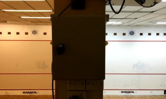 JP Sport & Fitness Club installera smart LED i squashhallar