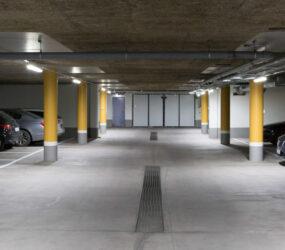 Smart LED-belysning i Kungsledens P-garage