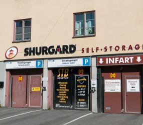 Vanadisgaraget i centrala Stockholm