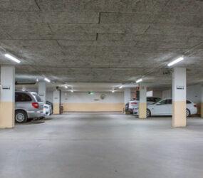 Stor energibesparing i parkeringsgaraget i Danderyd