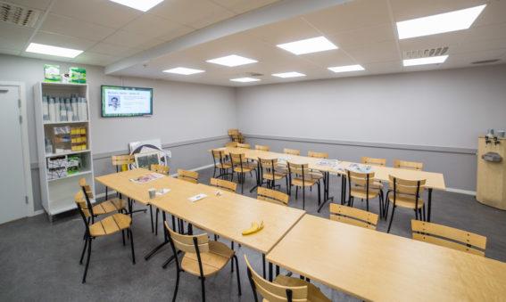 ICA moderniserar kontor vid centrallagret i Hacksta