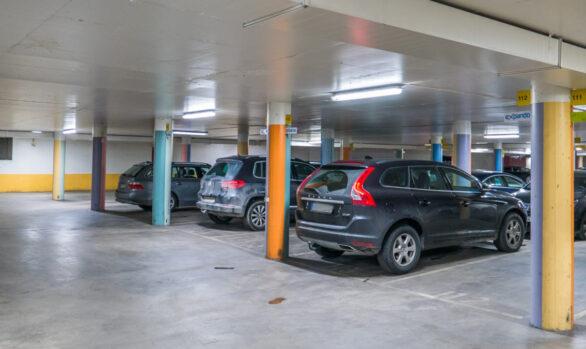 Ytterligare ett garage i Danderyd med Smart LED