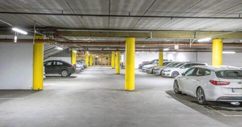 Stor miljö och energibesparing i NewSec garage