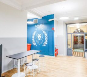 Sjölins Gymnasium ger eleverna en unik skolmiljö