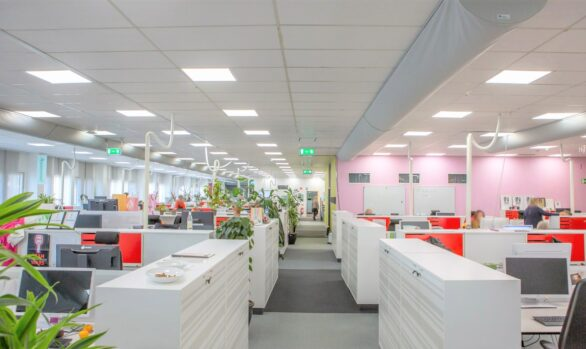 ICAs kontor i Kungälv får Smart LED-belysning